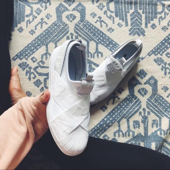 570d1bda1 adidas Shoes | Superstar Slip On Three Stripe Life Sneaker | Poshmark